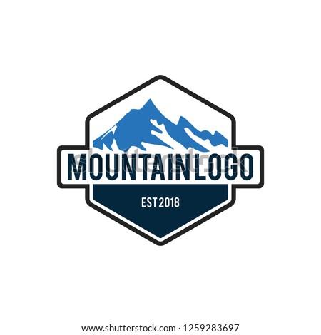 mountain vector logo