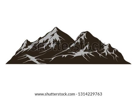 mountain vector rocky mountain
