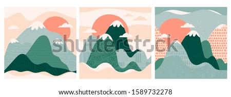 mountain view mountains  hills