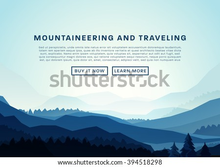 mountaineering and traveling