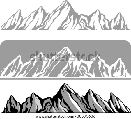 Mountains in variations