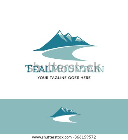 mountains logo for business