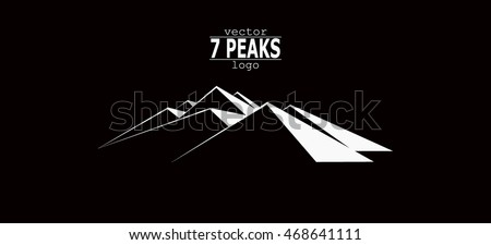 mountains logo seven peaks