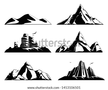 mountains rocks landscapes