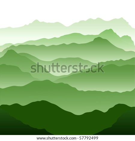 Mountains. Seamless vector illustration