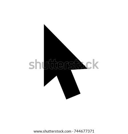 mouse arrow cursor icon  mouse