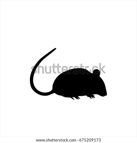 Mouse icon in trendy flat style isolated on background. Mouse icon page symbol for your web site design Mouse icon logo, app, UI. Mouse icon Vector illustration, EPS10.