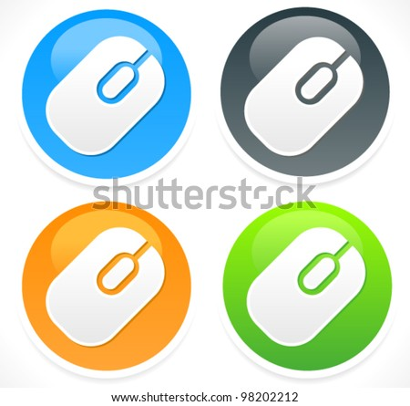 Mouse Icon - Mouse Vector Icon