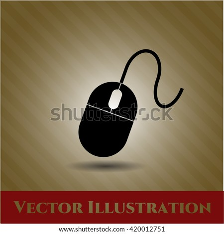 Mouse vector icon