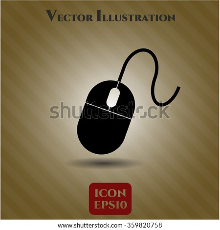 Mouse vector icon or symbol