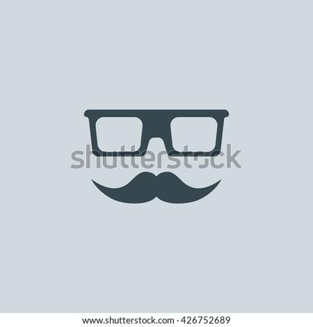 moustache icon  moustache icon