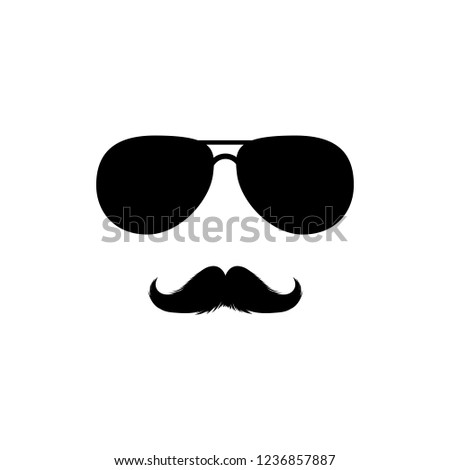 stock-vector-moustaches-and-sunglasses-mans-face-clipart-black-fashion-sunglasses-isolated-vector-clipart