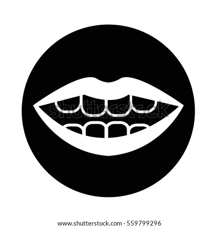 mouth icon - Shutterstock ID 559799296