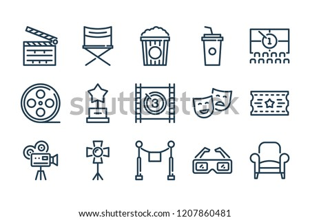 Free Movie Icon Set - Download Free Vector Art, Stock Graphics & Images