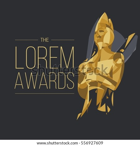 movie awards background cinema