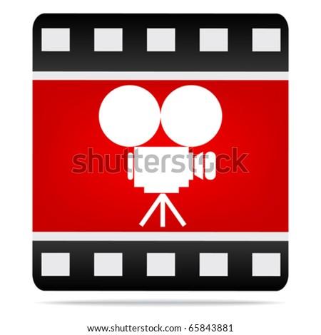 camera logo pictures. vector : movie camera icon