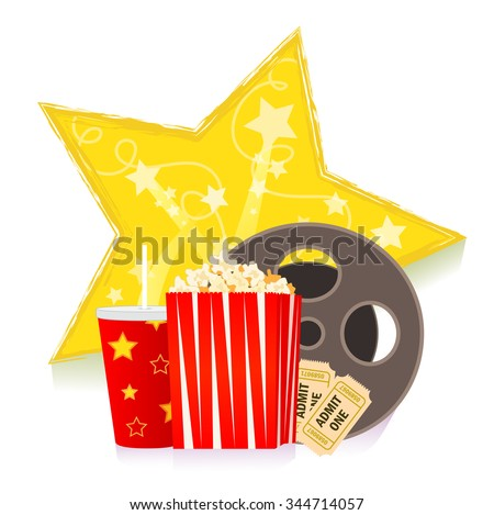 movie clip art   cartoon