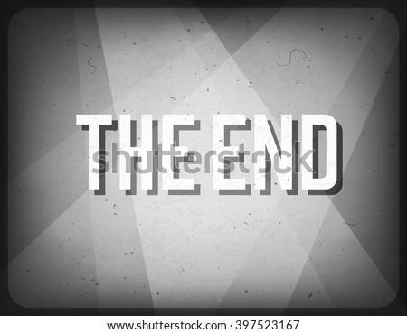 movie ending screen cinema