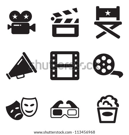 Movie Icons - Shutterstock ID 113456968