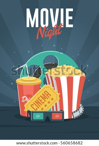 movie night can be used for