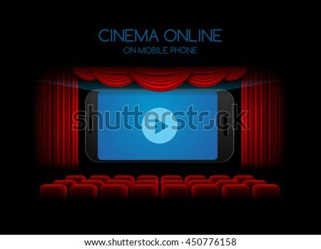 movie online,mobile phone;cinema ,theater