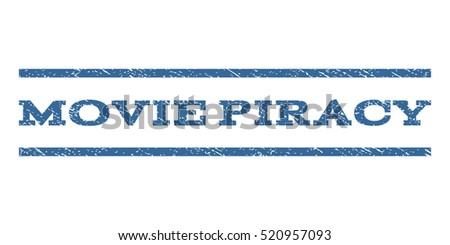 movie piracy watermark stamp