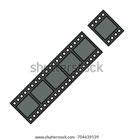 Movie reel symbol