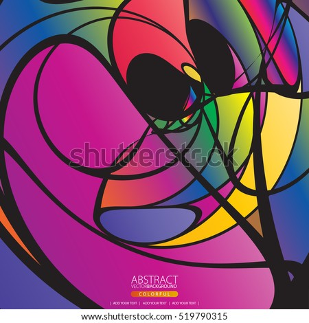 moving colorful lines of
