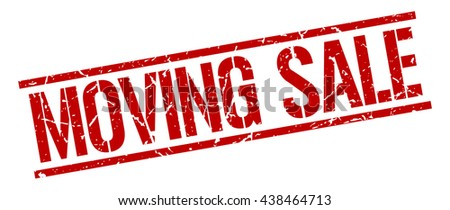 moving sale stamp.stamp.sign.moving.sale.