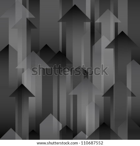 moving up black grey transparent arrows
