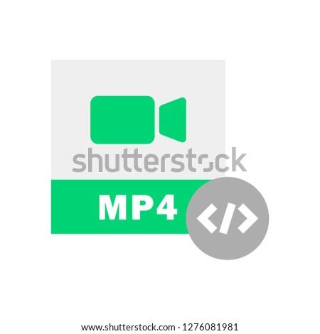 MP4 Code icon