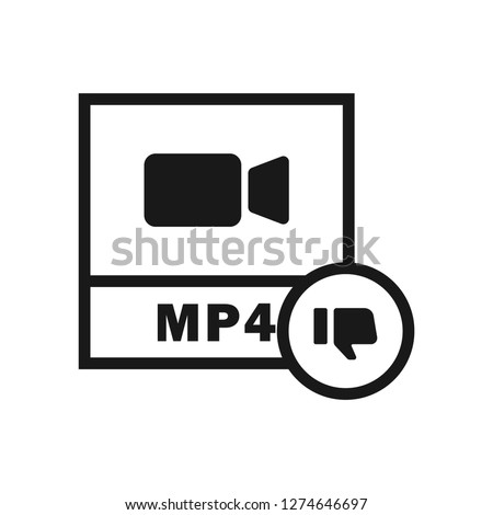 MP4 File Thumbs icon