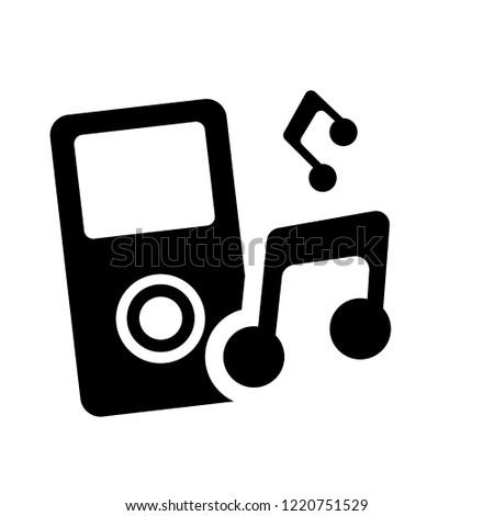 Mp3 icon. Trendy Mp3 logo concept on white background from Music collection. Suitable for use on web apps, mobile apps and print media.