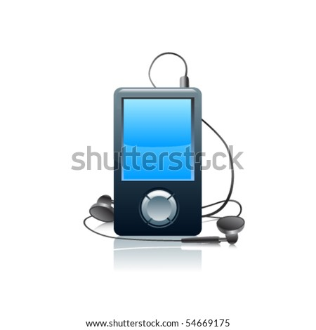 Mp3 icon.Vector
