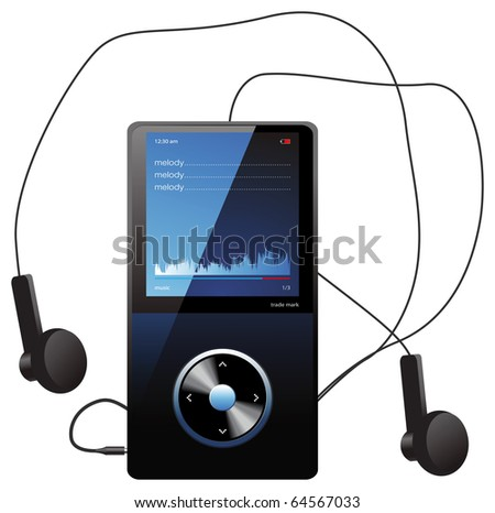 mp3 player   original design