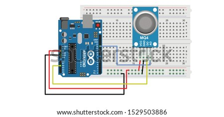 mq 4 sensor with arduino or Methane or CH4, CNG or Natural Gas sensor