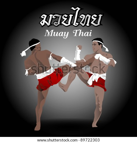 muay thai fight boxing