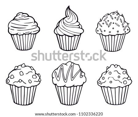 Free Cupcake Vector Download Free Vector Art Stock Graphics Images
