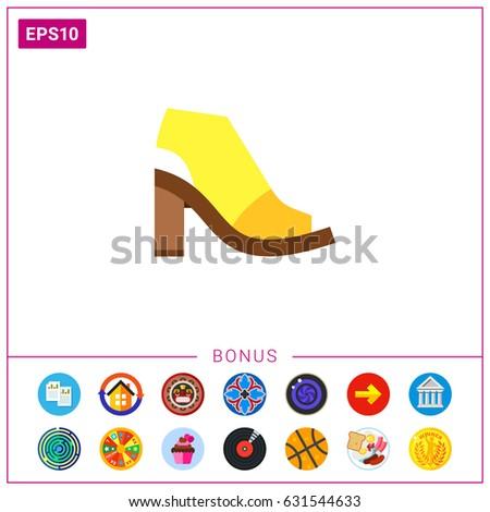 mule shoe icon