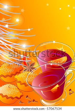Mulled wine and mince pies