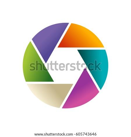 Royalty Free Aperture Color Wheel 3d Logo 106011254 Stock Photo