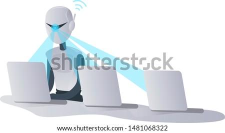 multi tasking robot scans three