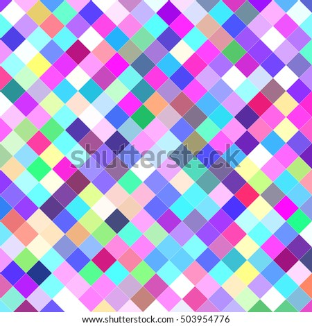 multicolor abstract square