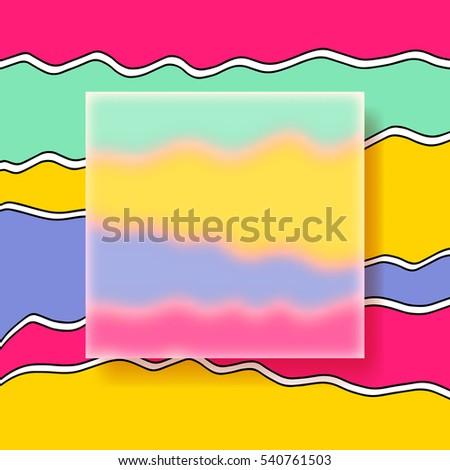 multicolor design templates