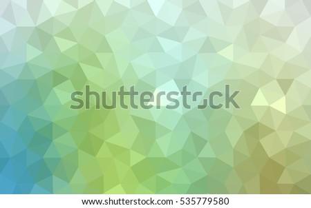 multicolor green  blue