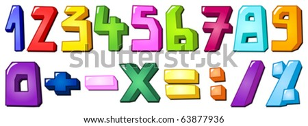 Multicolor numbers