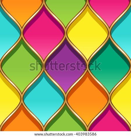 multicolor stained glass with
