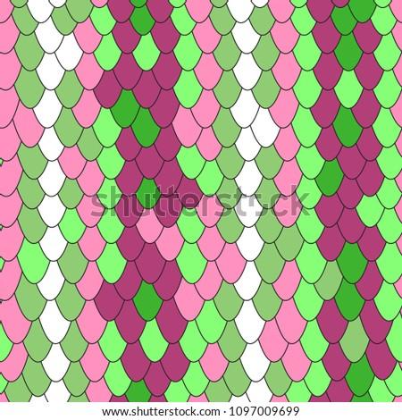 multicolor vector skin snake