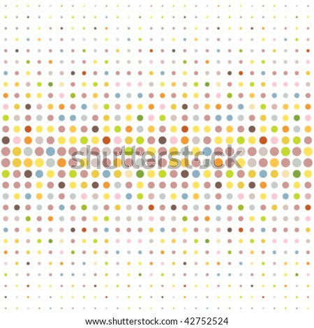 Multicolored dot background