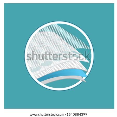 multilayer pictograms feminine hygiene pads
